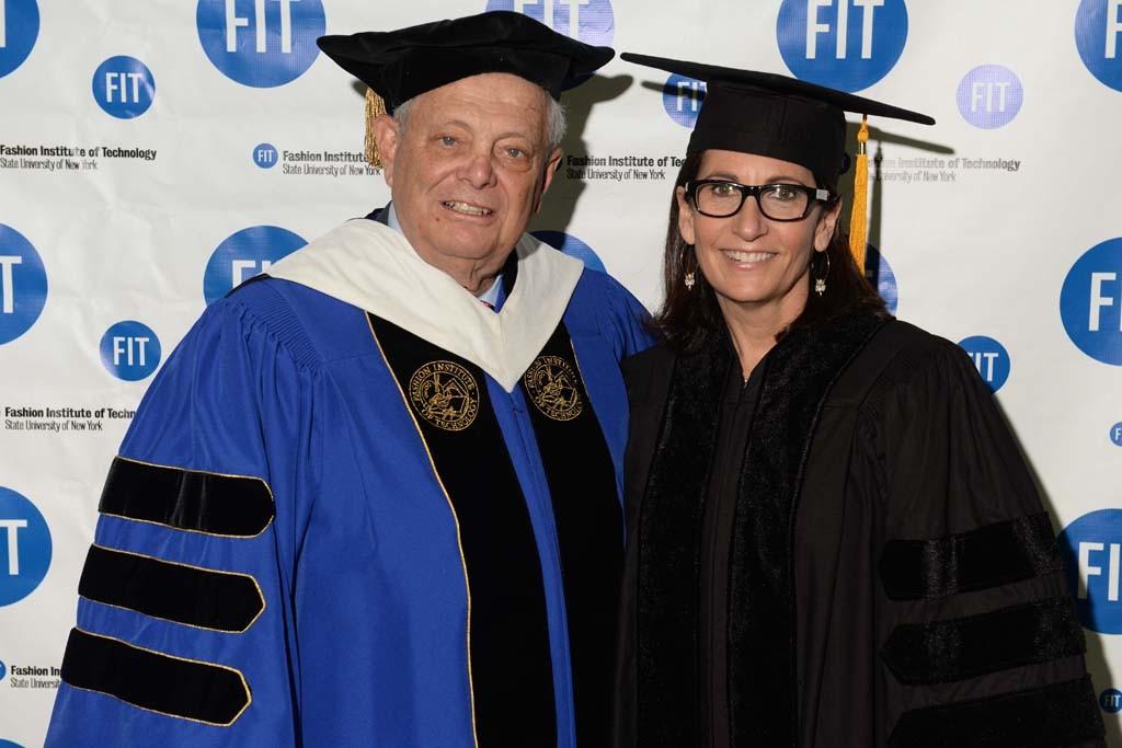 John Pomerantz and Bobbi Brown at FIT.