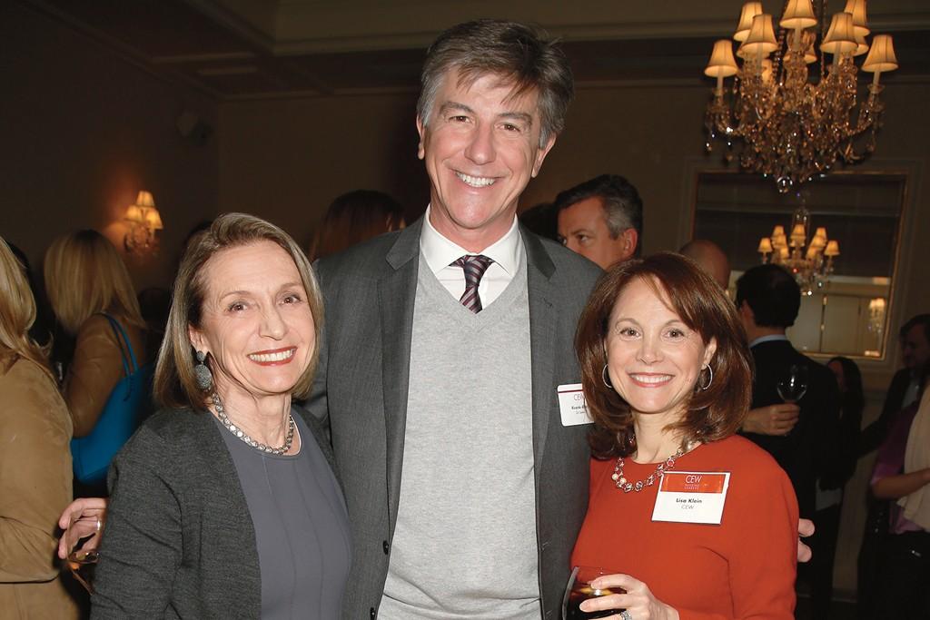 Carlotta Jacobson, Ricardo Alvar and Lisa Kline.