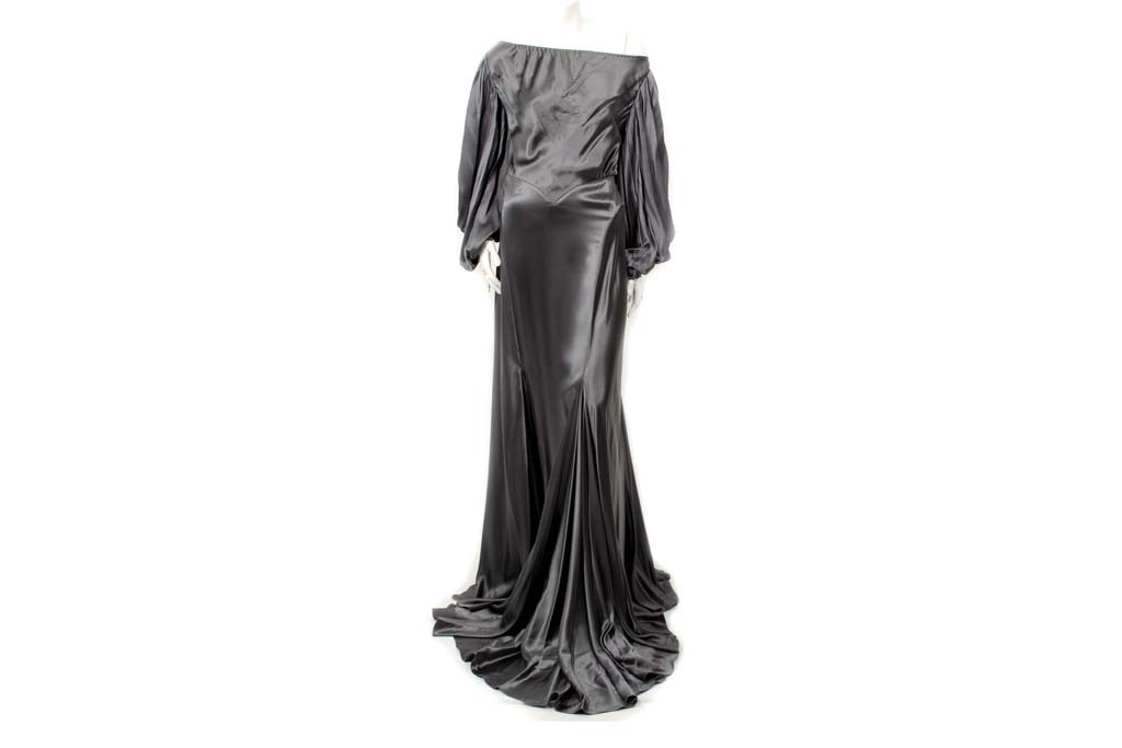 An Anjelica Huston gown designed by Zac Posen.
