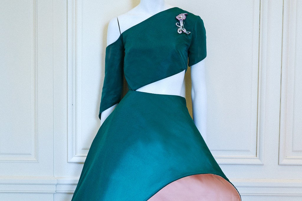 A Rosie Assoulin design inspired by Charles James.