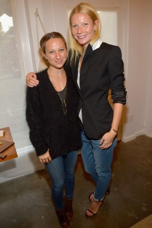 Jennifer Meyer Maguire and Gwyneth Paltrow