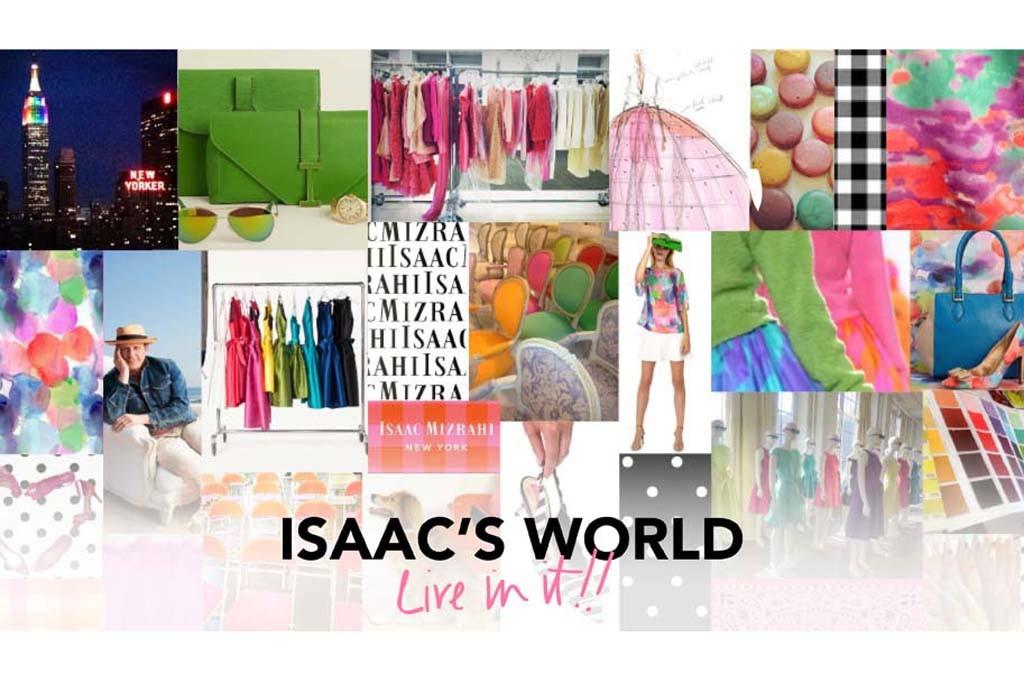 The new Isaac Mizrahi Web site.