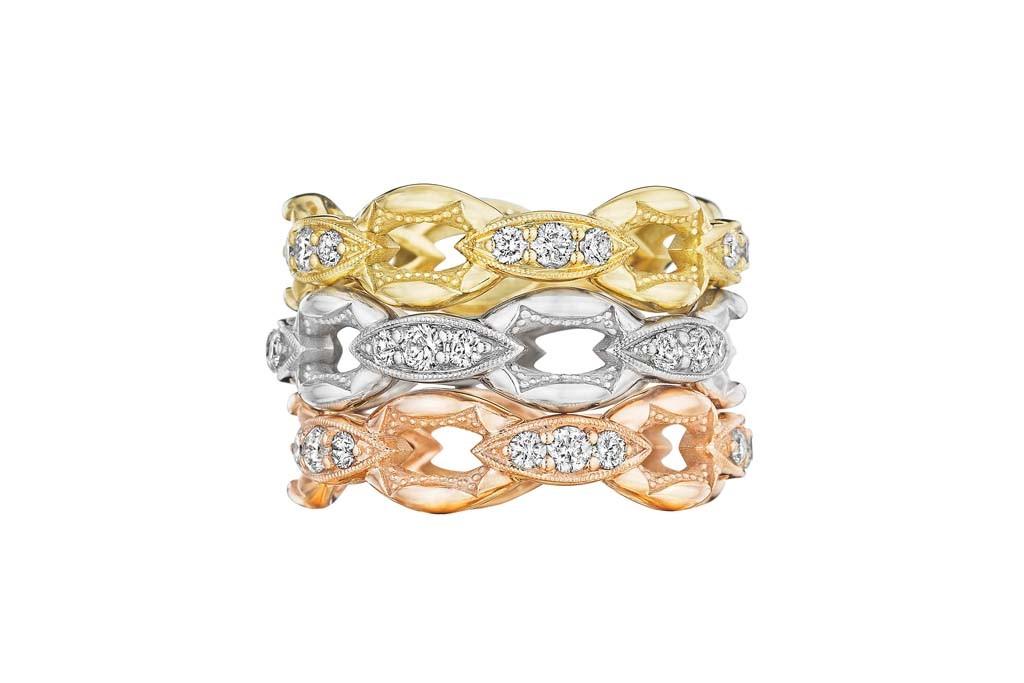 Tacori's rings