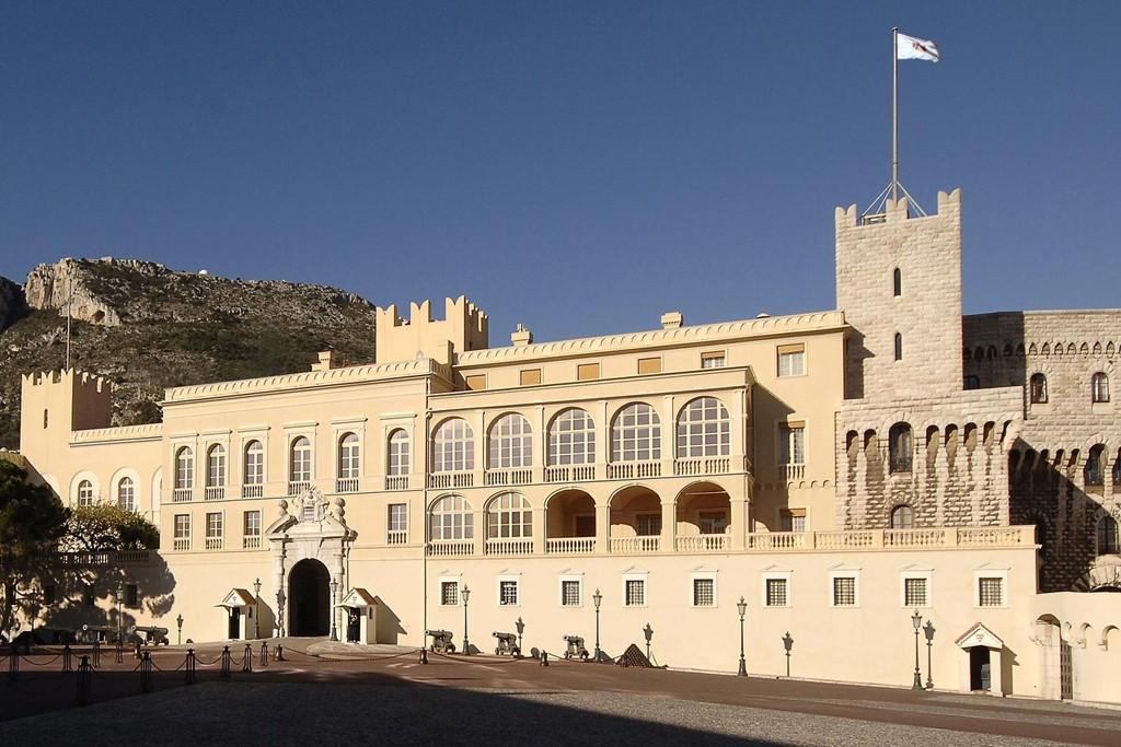 The Prince's Palace of Monaco.