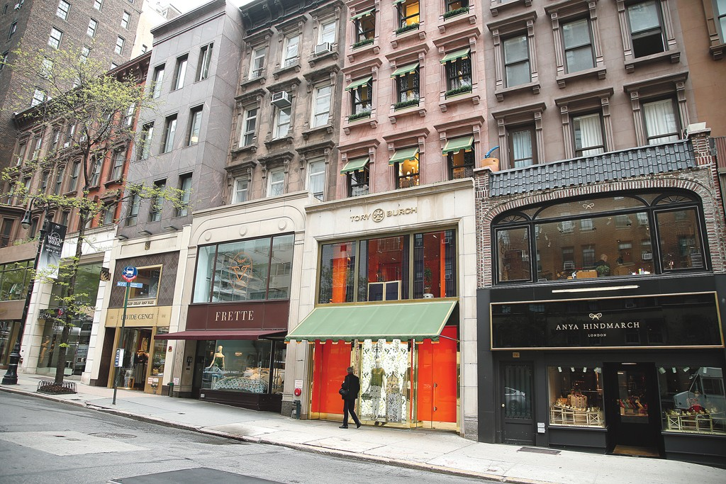 Madison Avenue is attracting younger, trendier stores.