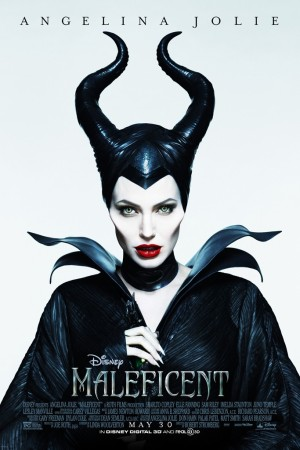 "Angelina Jolie as ""Maleficent,"" photographed by Mert Alas and Marcus Piggott."