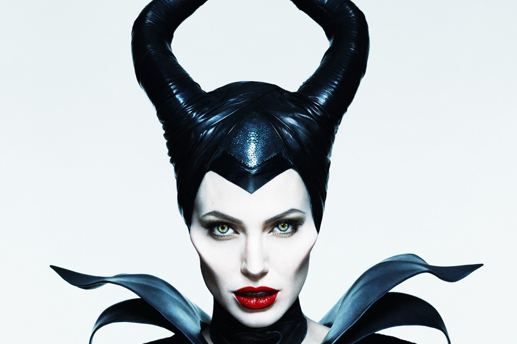 "Angelina Jolie as ""Maleficent,"" photographed by Mert Alas and Marcus Piggott."