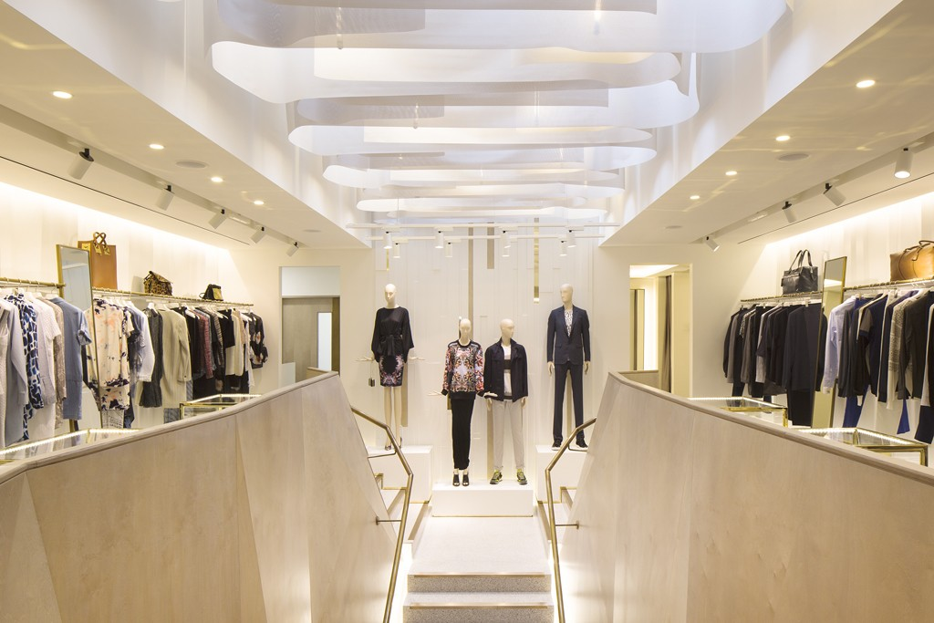 Inside Matchesfashion.com's new Wimbledon store.
