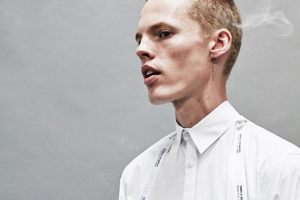A look from Stampd's spring 2014 collection.