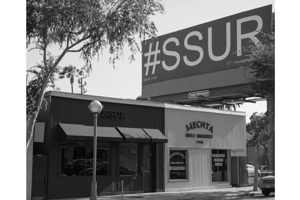 SSUR Store in West Hollywood.