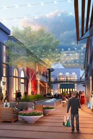 A rendering of Macerich's Broadway Plaza in Walnut Creek, Calif.
