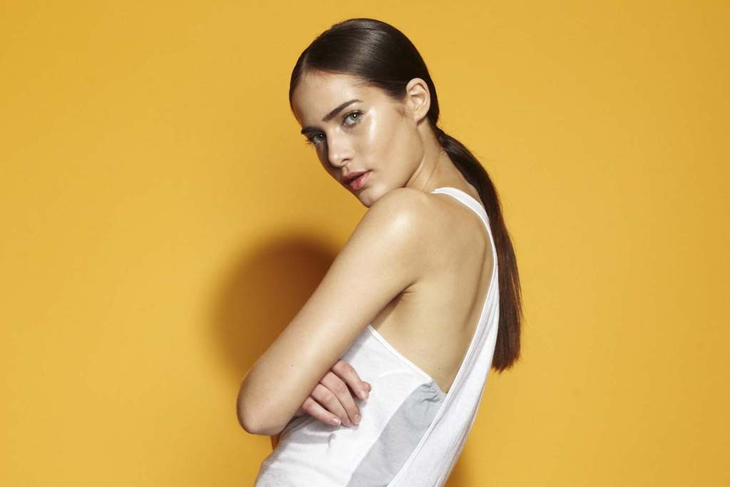 A look from the limited edition Ramy Brook for SoulCycle collection.