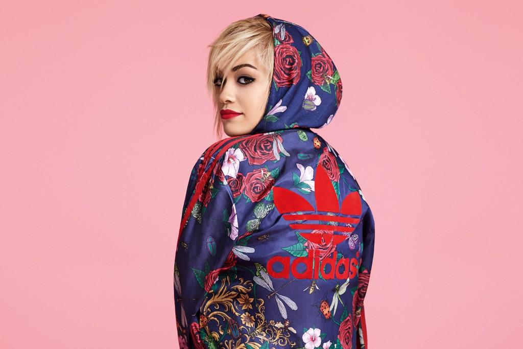 Rita Ora for Adidas Originals.