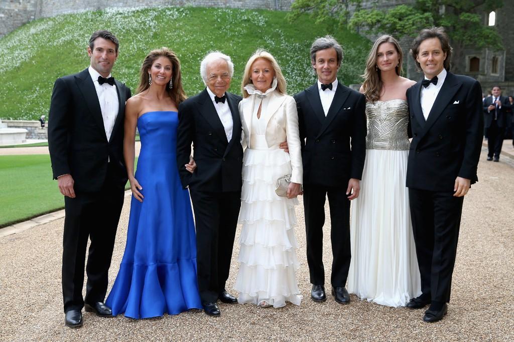 The Lauren clan at Windsor.