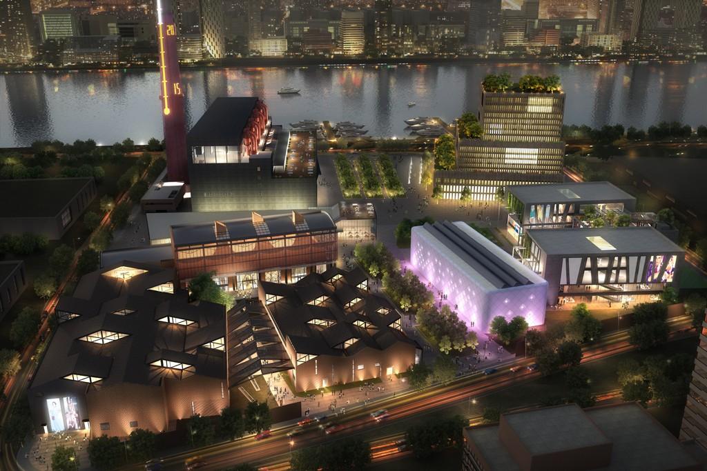 Rendering of Heritage Showcase Shanghai.