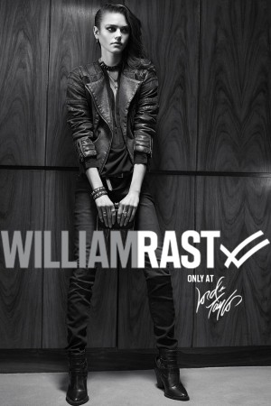 An ad from William Rast's women's line at Lord & Taylor.