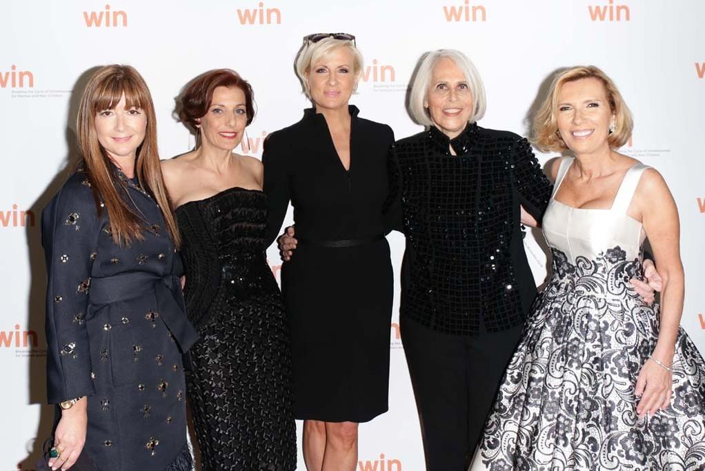 Deborah Lloyd, Jaqui Lividini, Mika Brzezinski, Bonnie Stone and Liz Rodbell