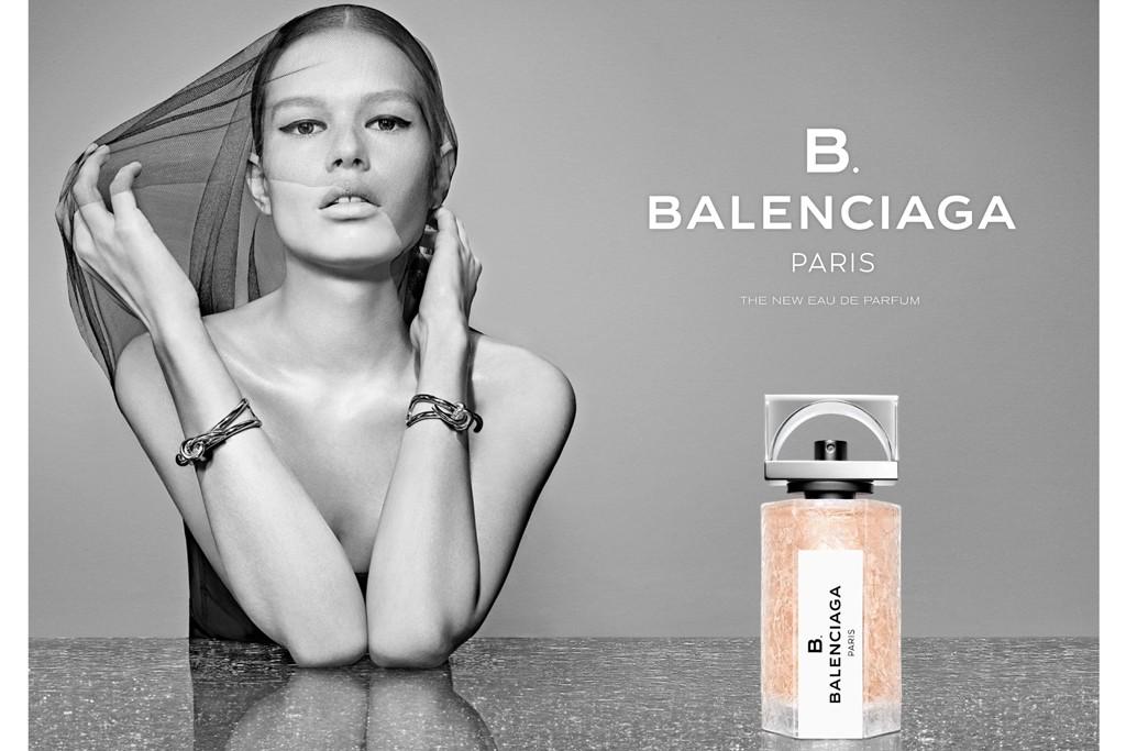 An ad visual for Balenciaga.