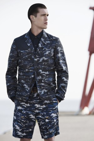 A look from the Barbour and White Mountaineering collaboration