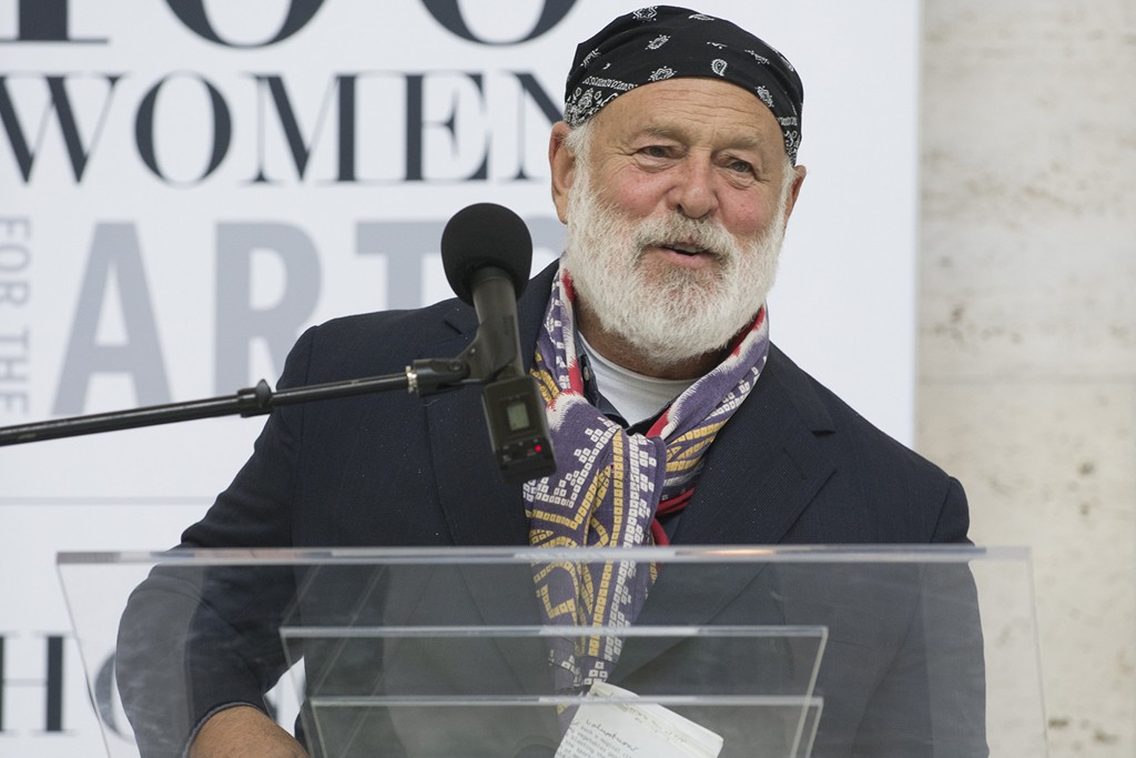 Photographer Bruce Weber honored by 100 Women for the Arts at the Detroit Institute of Arts.