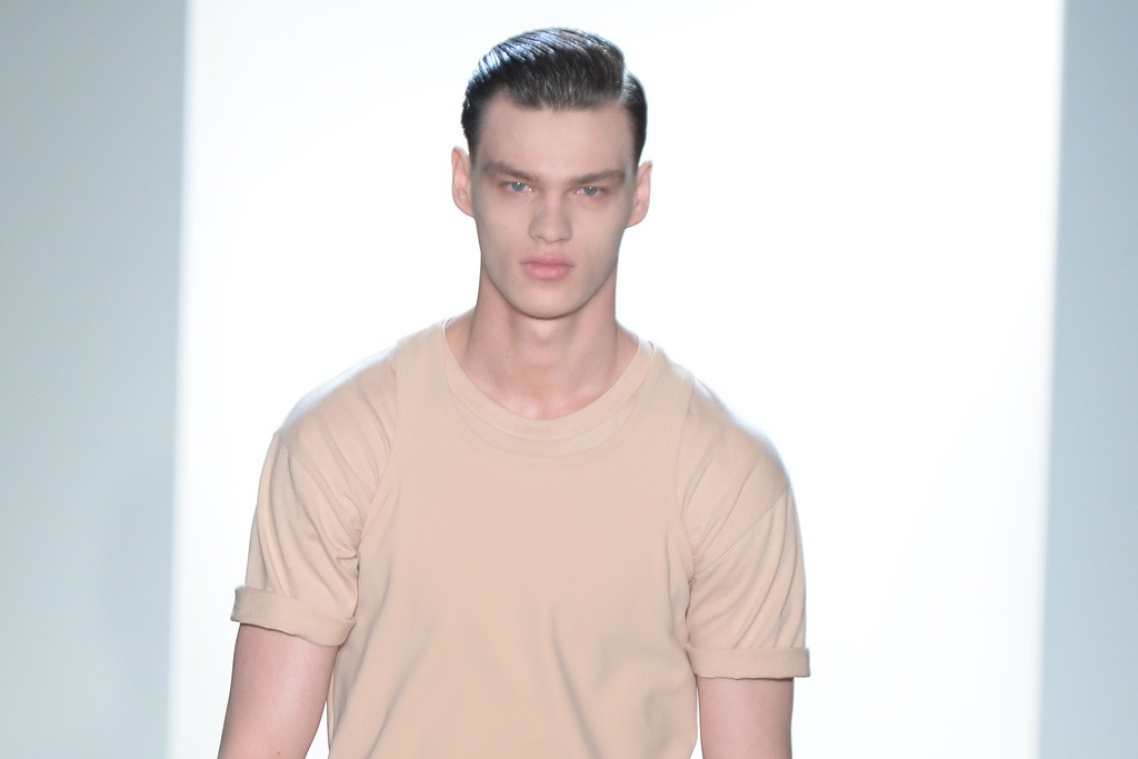 Calvin Klein Men's RTW Spring 2015