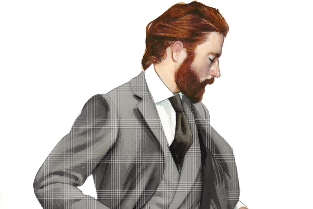 A sketch from Cifonelli's first fall collection.