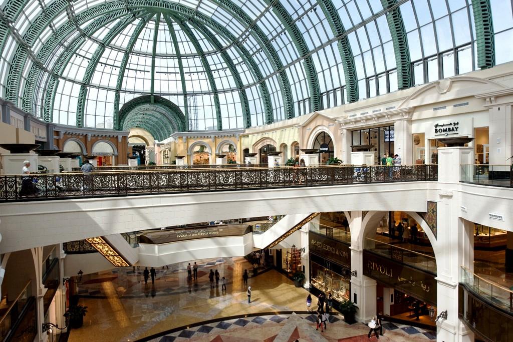 The Mall of the Emirates in Dubai.