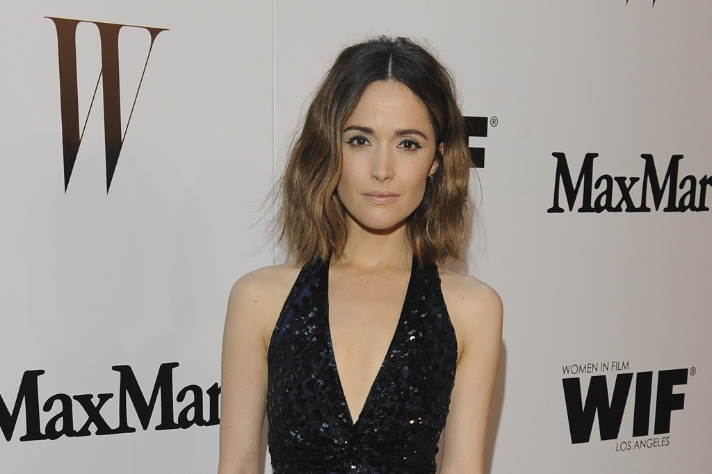 Rose Byrne at the Chateau Marmont.