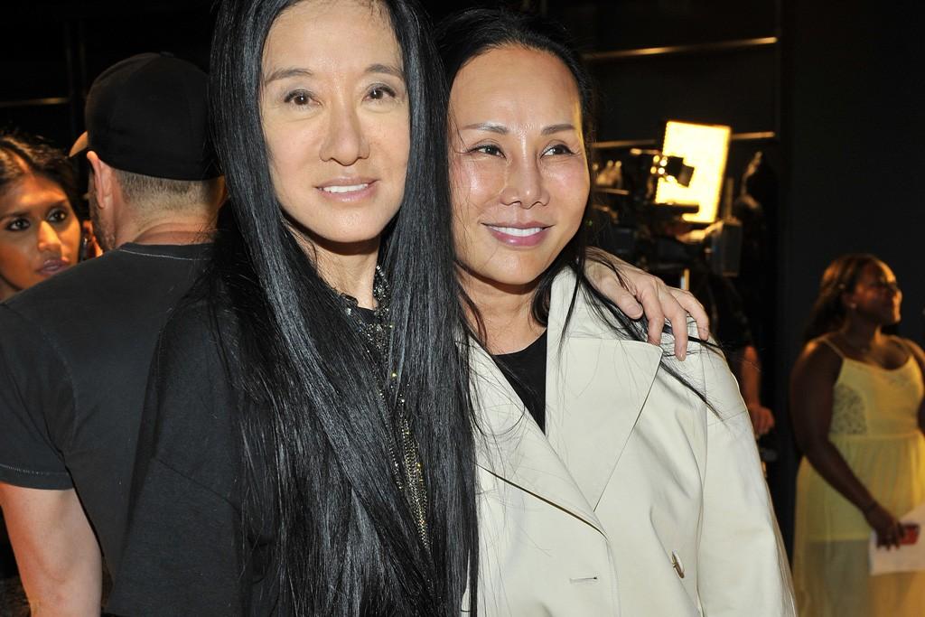 Vera Wang and Eva Chow