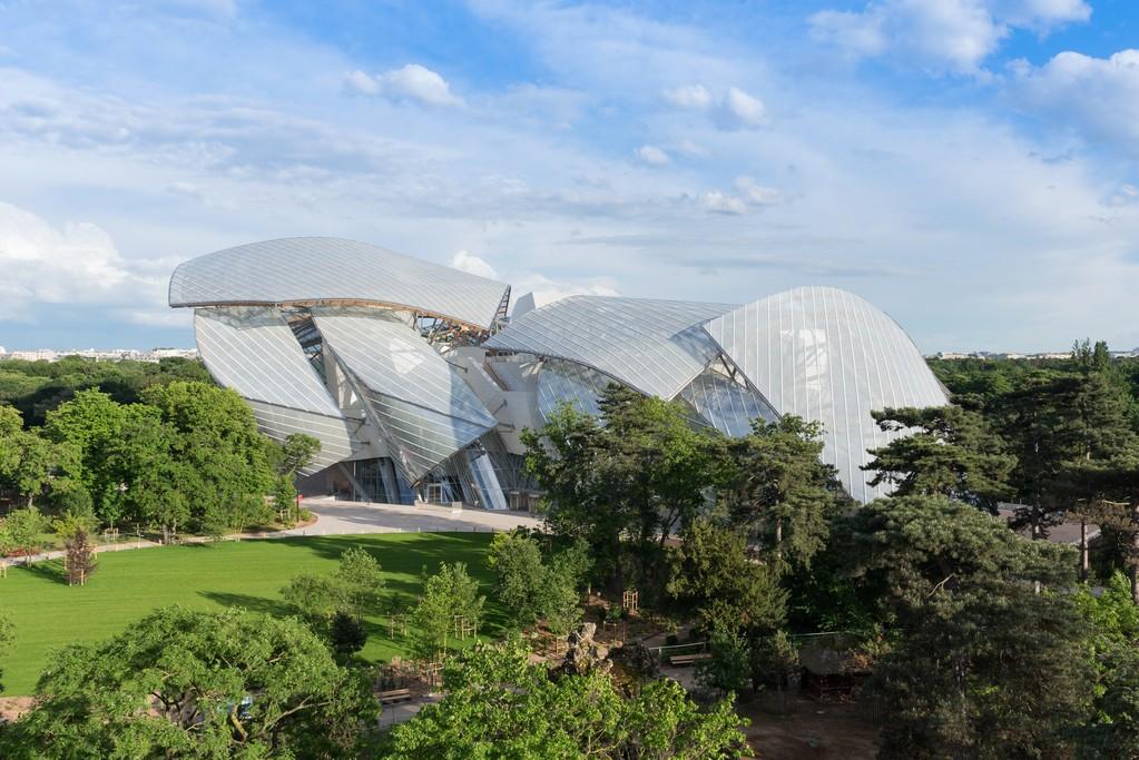 The Louis Vuitton Foundation in the Bois de Boulogne