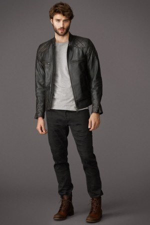 A look from the Beckham for Belstaff collection