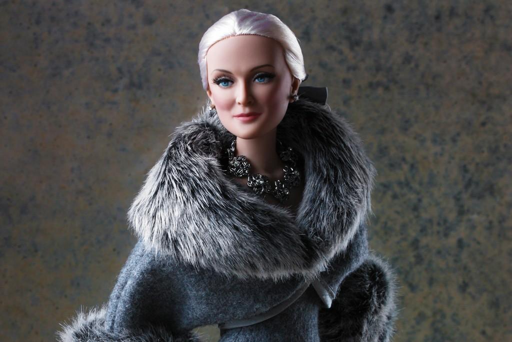 A Carmen Dell'Orefice doll.