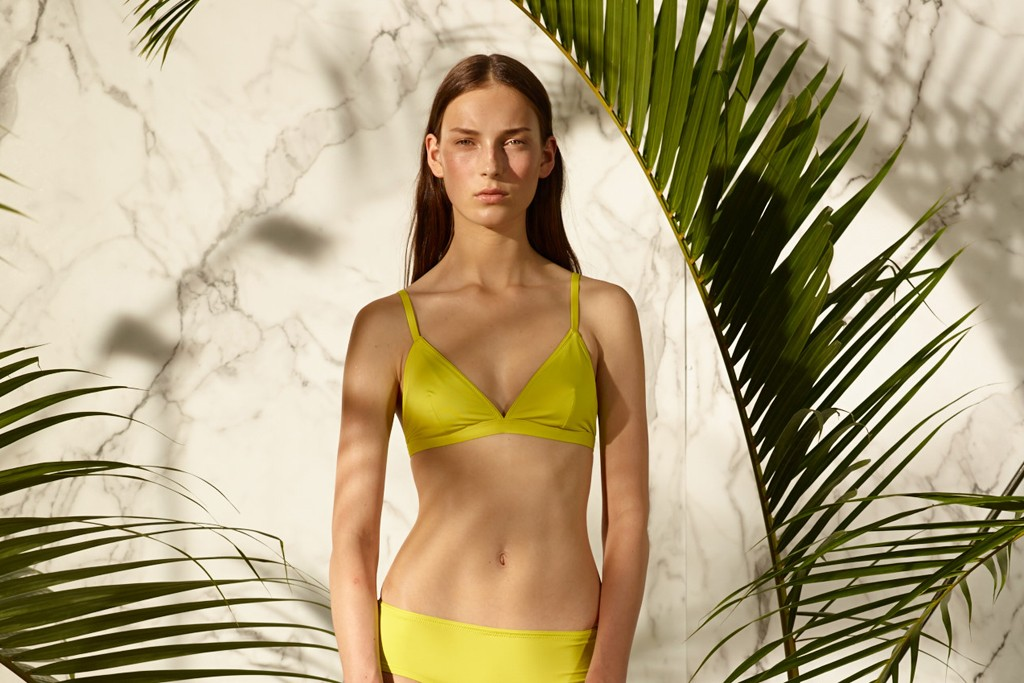 A look from Proenza Schouler's new swimwear collection.
