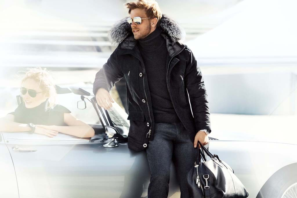 The Michael Kors Fall 2014 ad campaign.