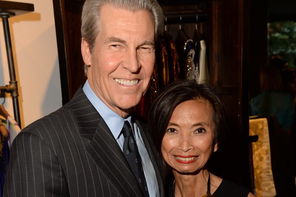 Terry Lundgren and Josie Natori