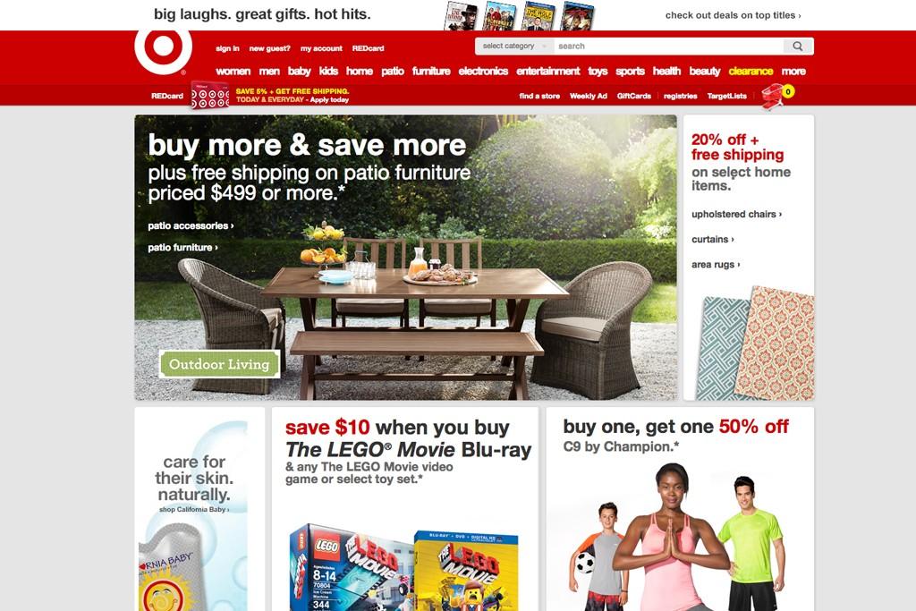 Target brass has said digital is a key priority.