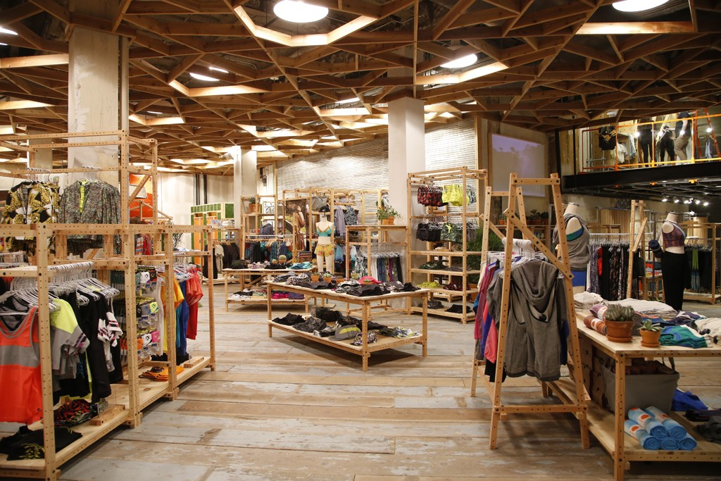 The Urban Outfitters store at Herald Square in New York.