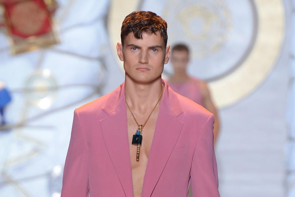 Versace Men's RTW Spring 2015