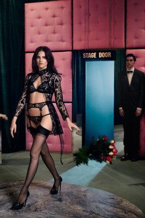 An ad visual for Agent Provocateur.
