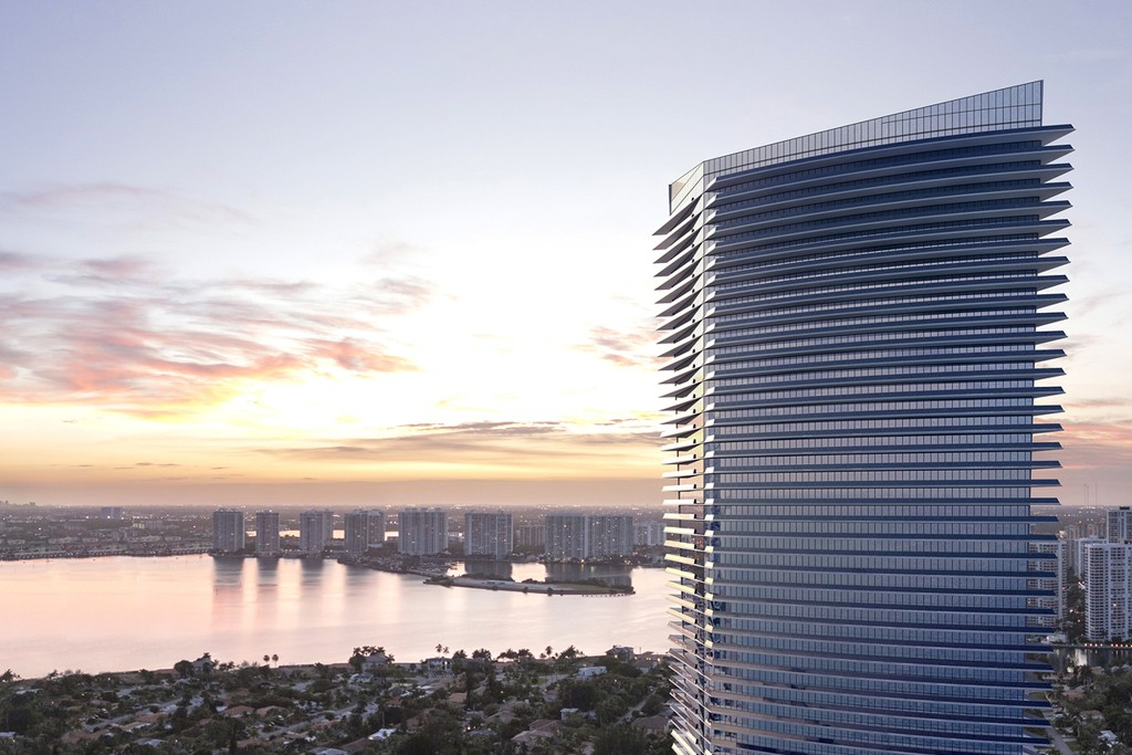 Residences by Armani/Casa in Miami, Florida.