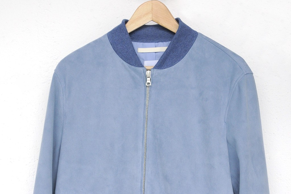 Suede bomber jacket by Norse Projects.
