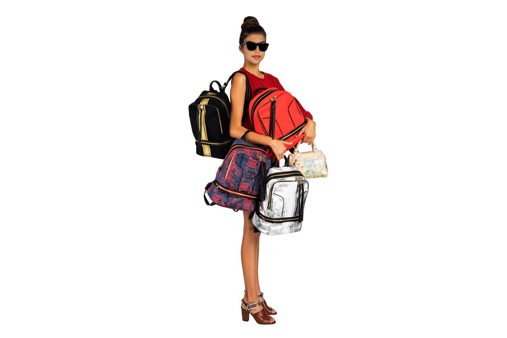 Styles from Cynthia Rowley's upcoming bag line.