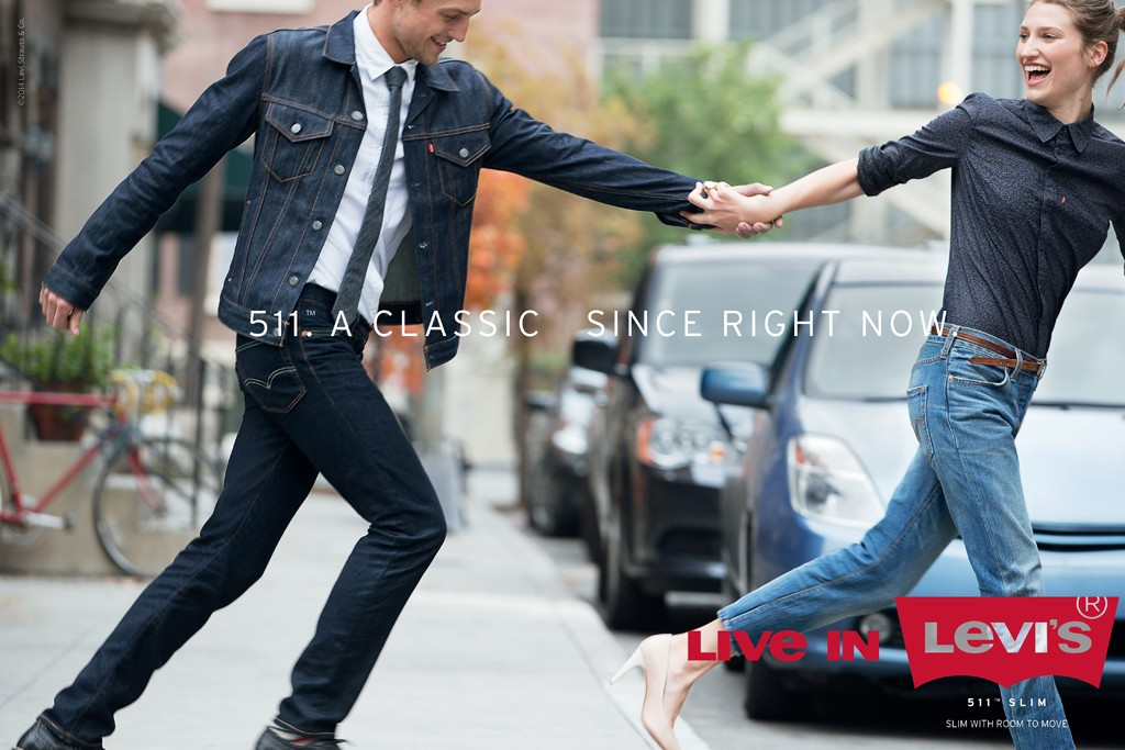 """An image from the """"Live in Levi's"""" campaign."""