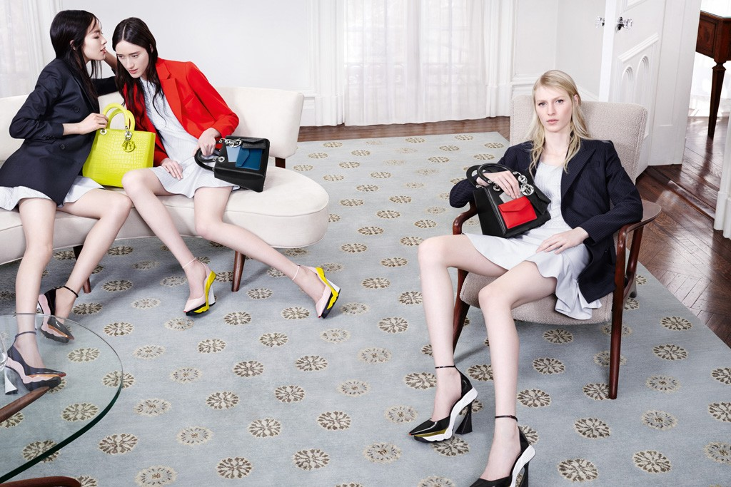 A visual from Dior's fall campaign.