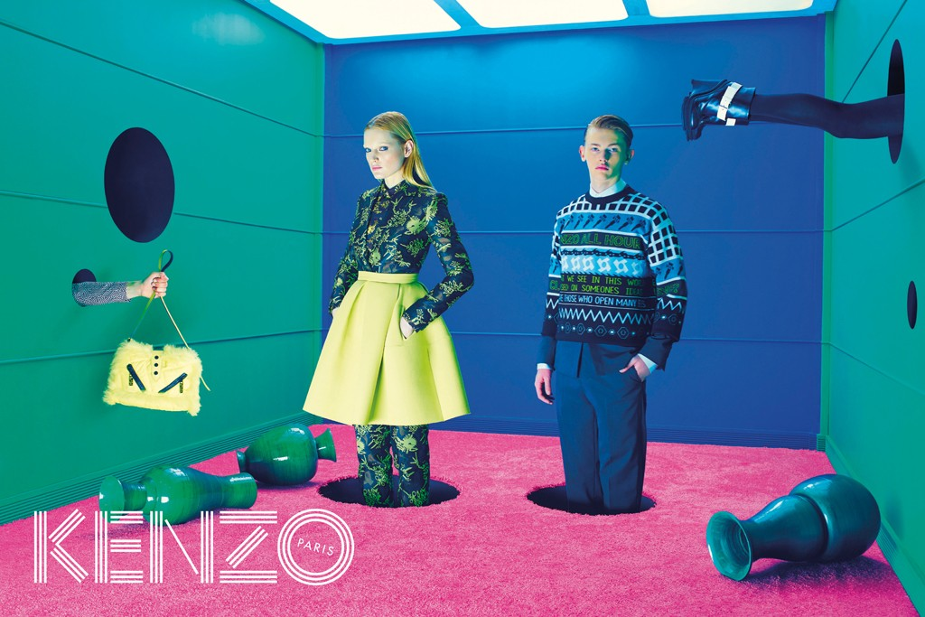 An image from Kenzo's fall campaign.