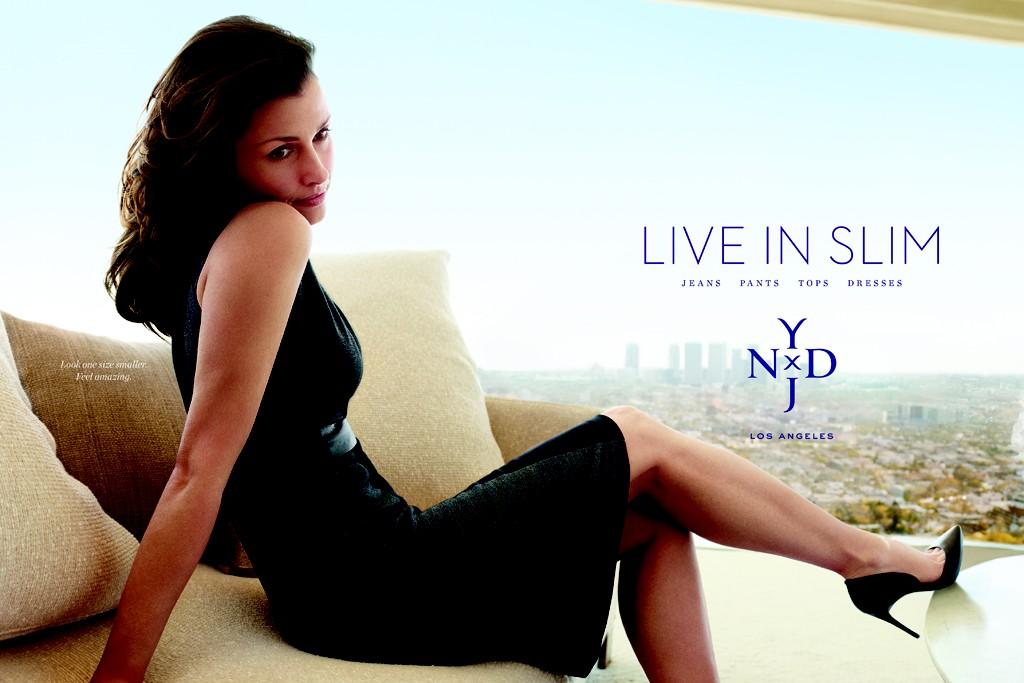 A NYDJ ad featuring Bridget Moynahan.