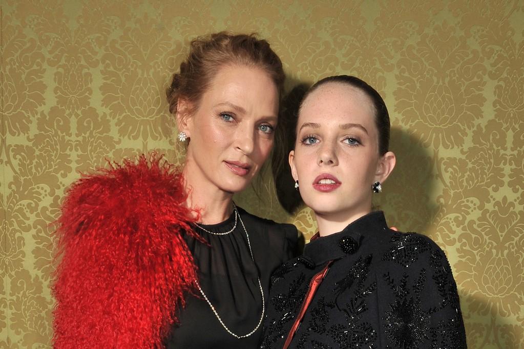 Uma Thurman and daughter Maya Ray