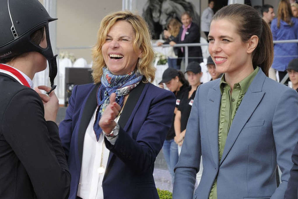 Virginie Coupérie-Eiffel and Charlotte Casiraghi