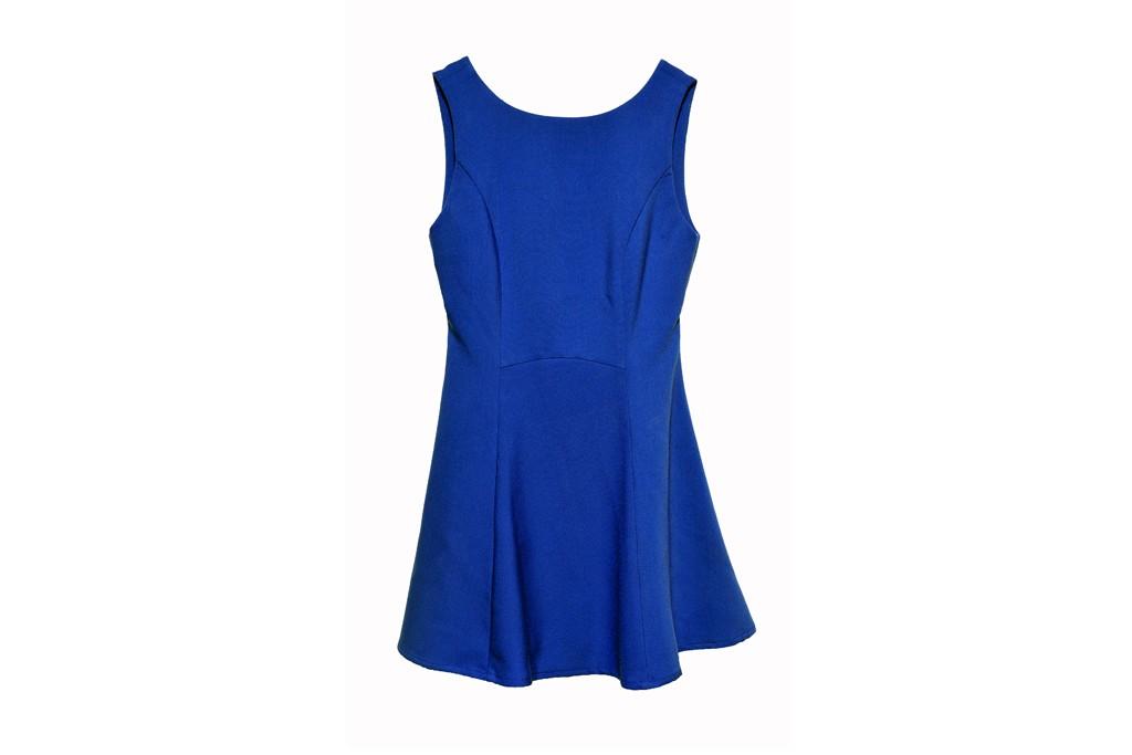 Blue dress by Louche London.
