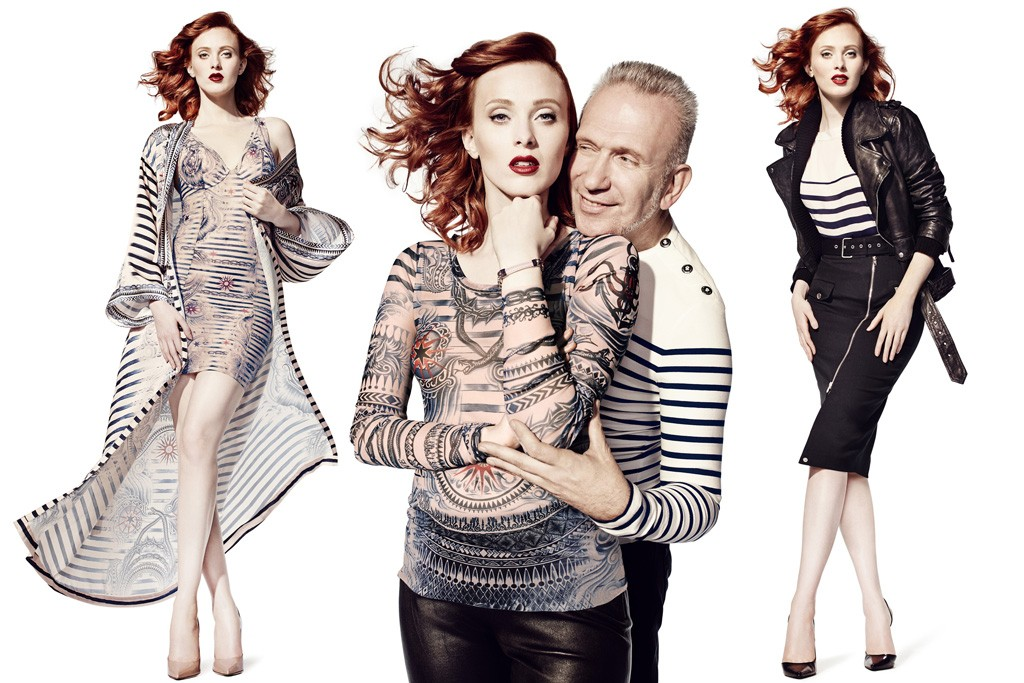 Jean Paul Gaultier for Lindex ad campaign